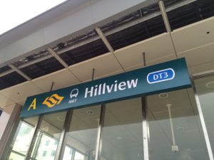 Dairy Farm Residences nearest Hillview MRT Station